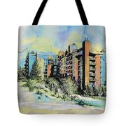 Victoria Art Tote Bag