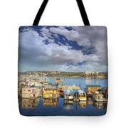 Victoria Bc Fishermans Wharf Tote Bag