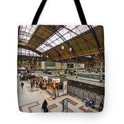 Victoria Railway Station London  Tote Bag