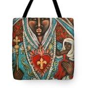 Vierge Noire De Paris Tote Bag