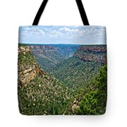 View From Sun Temple In Mesa Verde National Park-colorado  Tote Bag