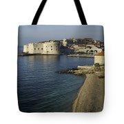 Views Of Dubrovnik Old Town Croatia Tote Bag