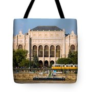 Vigado Concert Hall In Budapest Tote Bag