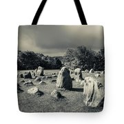Viking Burial Ground, Lindholm Hoje Tote Bag