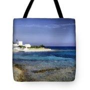 Greek Villa Tote Bag