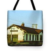 Villisca Train Depot Tote Bag