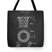 Vintage Basketball Goal Patent From 1951 Tote Bag