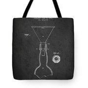 Vintage Bottle Neck Patent From 1891 Tote Bag by Aged Pixel