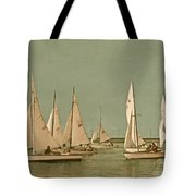 Vintage Comet Race  Tote Bag