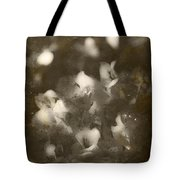 Vintage Floral Background Tote Bag