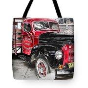 Vintage International Truck Tote Bag by Douglas Barnard