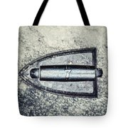 Vintage Iron With Number 7 Tote Bag