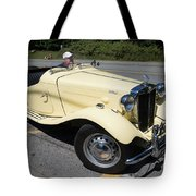 Vintage Mg Tote Bag