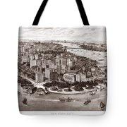 Vintage New York 1903 Tote Bag