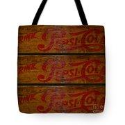 Vintage Pepsi  Tote Bag