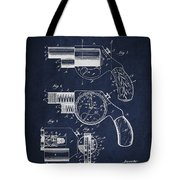 Vintage Pistol Patent From 1892 Tote Bag