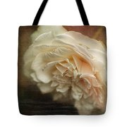 Vintage Tea Rose Tote Bag