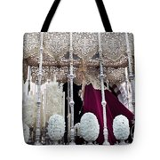 Virgin Mary In Procession Tote Bag by Artur Bogacki