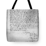 Virginia Council Of State Tote Bag