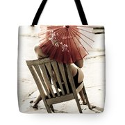 Vision Of A Simple Life Tote Bag