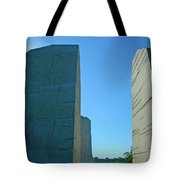 Visiting Marin Luther King Tote Bag