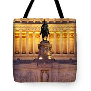 Vittorio Emanuele - Rome Tote Bag
