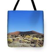 Volcanic Landscape Tote Bag