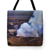 Volcano Crater Big Island Hawaii  Tote Bag