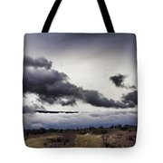 Volcano Vog Big Island Hawaii V2 Tote Bag