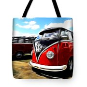 Vw Micro Bus Tote Bag