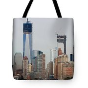 1 W T C And Lower Manhattan Tote Bag