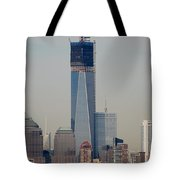 1 W T C  Helos And Boats Tote Bag