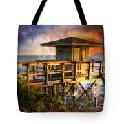 Waiting For Customers Tote Bag