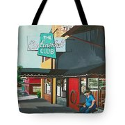 Waiting For Stevie Ray Tote Bag