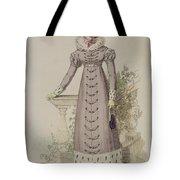 Walking Dress, Fashion Plate Tote Bag