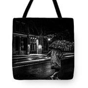 Walking In The Rain   Tote Bag by Bob Orsillo