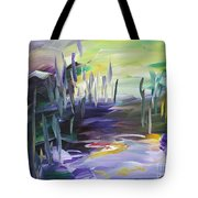 Walking Through Tote Bag
