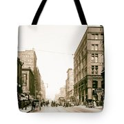 Walnut Street - Kansas City 1906 Tote Bag