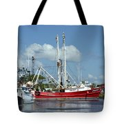 Wanchese Harbor Tote Bag