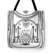 Washington Masonic Apron Tote Bag