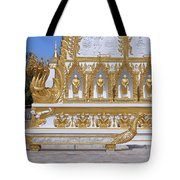 Wat Nong Bua West Side Of Main Stupa Base Dthu447 Tote Bag