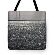 Water And Haze Tote Bag