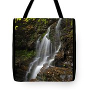 Water On The Mountain Tote Bag