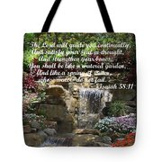 Watered Garden Tote Bag