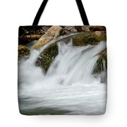 Waterfall - Zion National Park Tote Bag