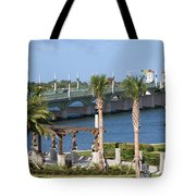 Waterfront Park St Augustine Florida Tote Bag