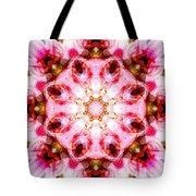 Lily Mandala Tote Bag