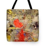 We All Bleed The Same Color II Tote Bag