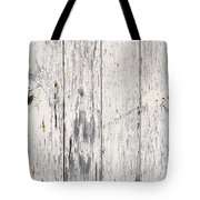 Weathered Paint On Wood Tote Bag