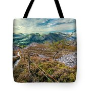 Welsh Mountains Tote Bag